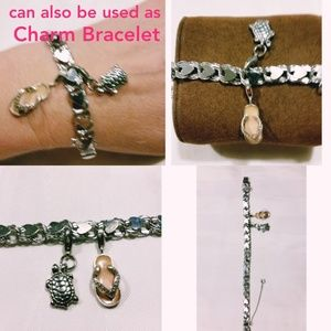 925 Heart Chain Bracelet more pictures